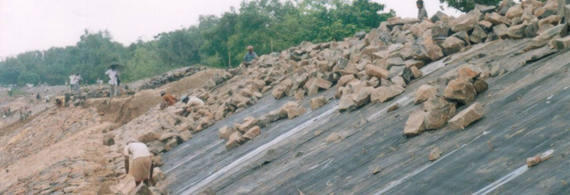 Jute Geotextiles , Synthetic Geotextiles, Civil Engineering Applications