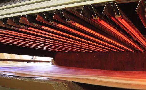 Infrared Heat Increases Productivity of Flameproof Textiles