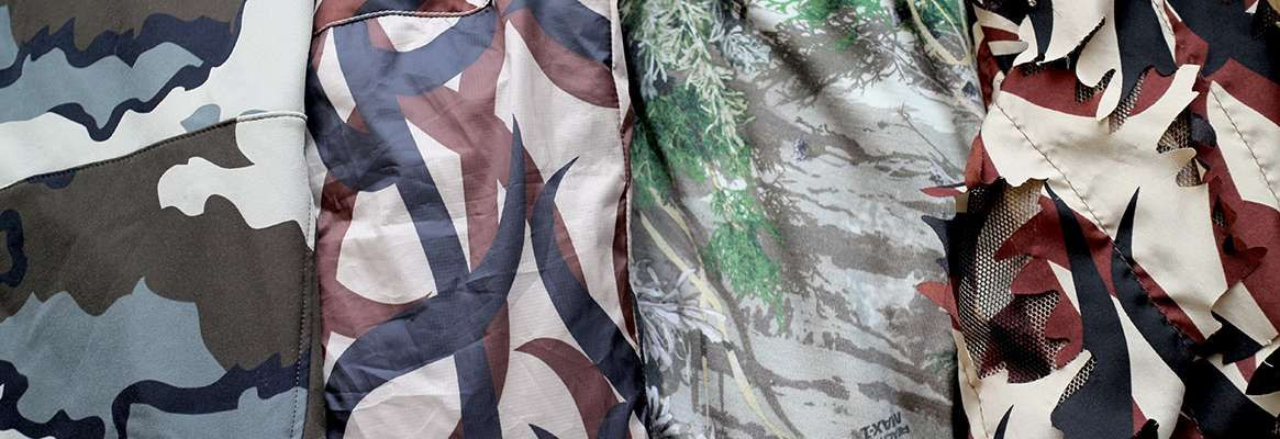 Camouflage Textiles for Protective Clothing