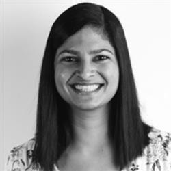 Tiasha Renganathan, Head - Wearable Technology, Twinery Innovations by MAS