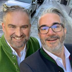 Steve McCullough & Marco Weichert, Event Manager & GM respectively, Functional Fabric Fair & Design and Development GmbH Textile Consult respectively