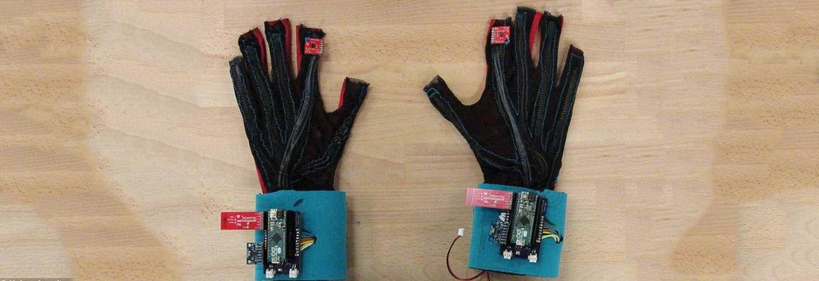 Fabric Sensor for Sign Language Console