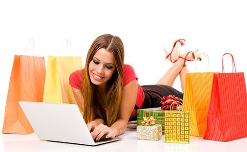 Online Shopping - clicking away to glory!