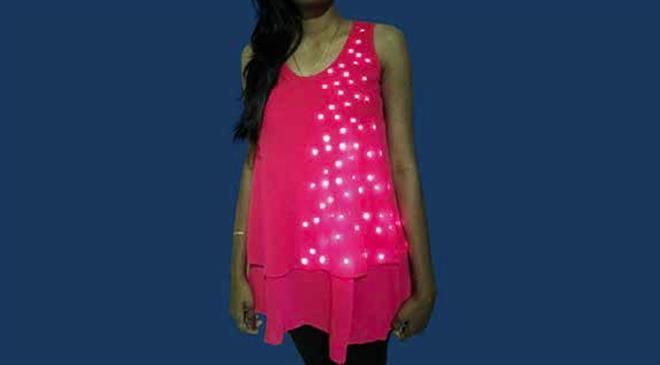 How different is your LED-lit t-shirt from the rest available in the market?