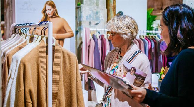 What were the highlights of the recently held Greenshowroom? What was the footfall and the number of participating brands?