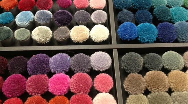 What is the demand for textured and twisted yarns of polyester and nylon?