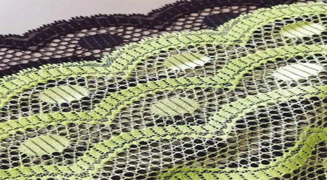 What are the latest technological advancements in the manufacturing of laces and trims?