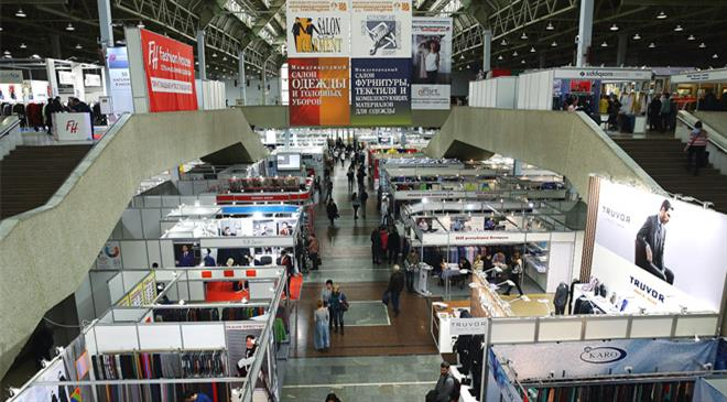 How is Russia promoting the process of import substitution in textiles and clothing industry?