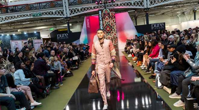 What were the key trends for A/W 2019 at Pure London and Pure Origin?