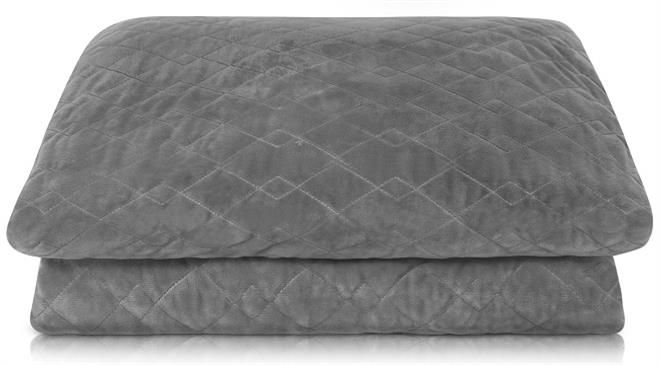 What is the weight of Hush Blankets compared to normal ones? How did you measure the quality of sleep with hush blankets?