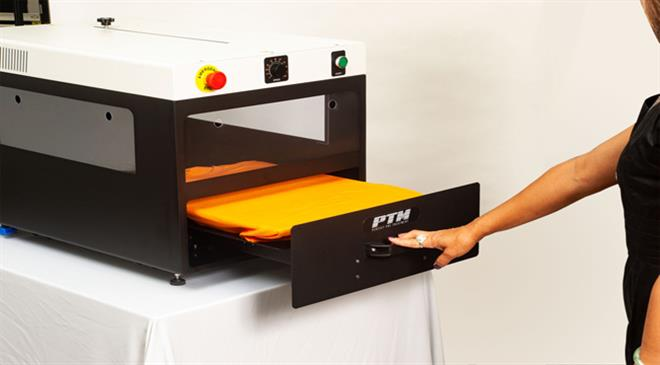 What is unique about the PTM machine?