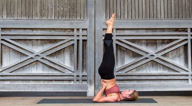 How would you describe the yogawear market in the United States? At what rate is it growing?