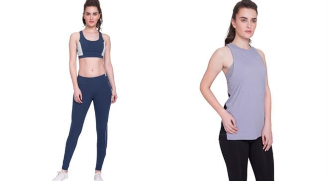 What factors are responsible for the growth of the activewear category in India?