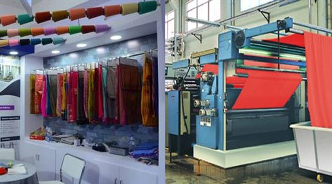 Which are your major domestic and international markets for yarns and woven fabrics?