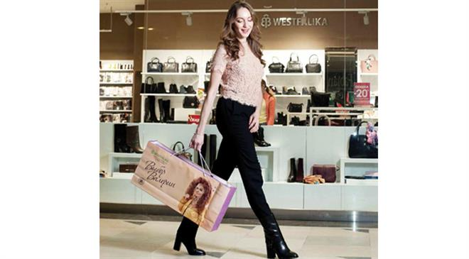 How big is the footwear market in Russia? At what rate is it growing?