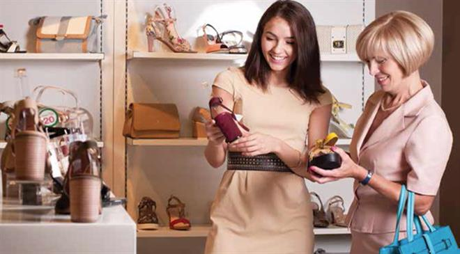 What are the latest footwear market trends in Russia?