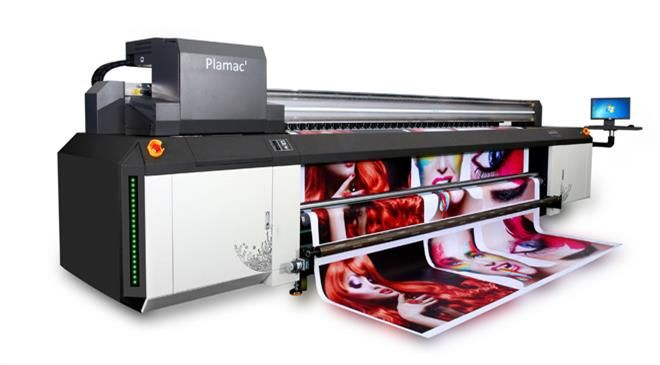 What is the market size of UV printing globally? How fast is the technology growing?