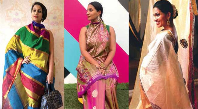 What do you have to say about the market for handloom saris in India and abroad?