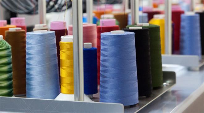 What is the size of the market for blended yarns? What is the expected growth rate for the next year?