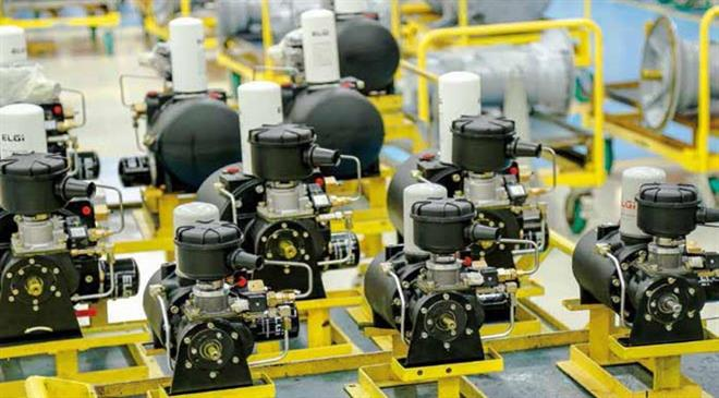 How big or small is the market for second-hand air compressors? What about unorganised markets?