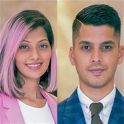 Sandeep Gonsalves & Sarah Gonsalves, Sarah & Sandeep