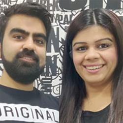 Abhishek Bajaj & Samiksha Bajaj, Samshek