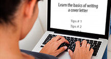 Learn the basics of writing a cover letter