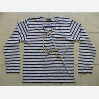 100% Cotton Yarn Dyed Jersey, S-XXL