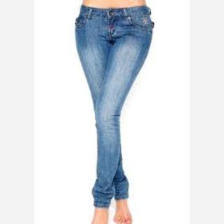 100% Denim, from 28 - 34 waist