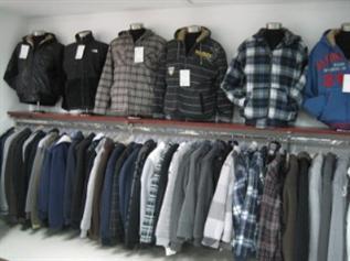 Denim, twill, cord, Nylon, polyester, taffeta, taslon, fleece, S-XXL