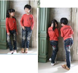 Denim : cotton with slub , cotton/sp ,cotton/polyester/sp , yarn dye denim, , 0 to 12 years