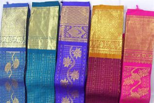 100% Handloom silk sarees made up of pure silk and pure zari, Standard