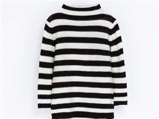 Acrylic Ladies Stripe Sweater