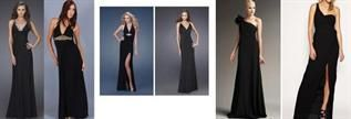 Ladies Formal Jersey Black Dresses