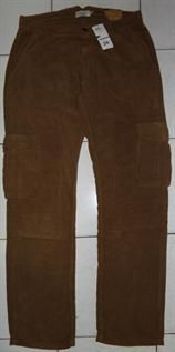100% cotton corduroy, 34 to 42