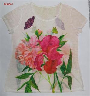 65% Polyester / 35% Cotton, XS, S, M, L, XL (2:3:3:3:2)
