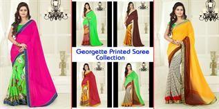 100% Georgette printed / 100% Georgette designer / Jacquard, Plus size