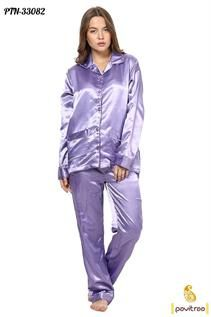 Cotton, Viscose Night Dress With M-40