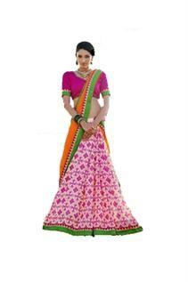 Georgette, Bhagalpuri, Kota etc, Free size