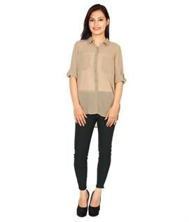 100% Polyester / Georgette, S-XL