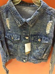 Knitted Cotton, Denim,, S-XXL