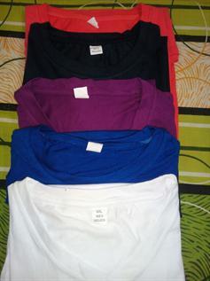 100% Cotton, S, M, L, XL, XXL, Plus size