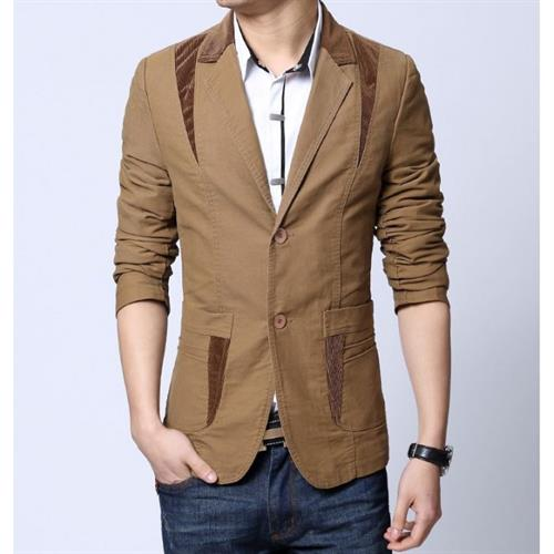 men cotton blazer