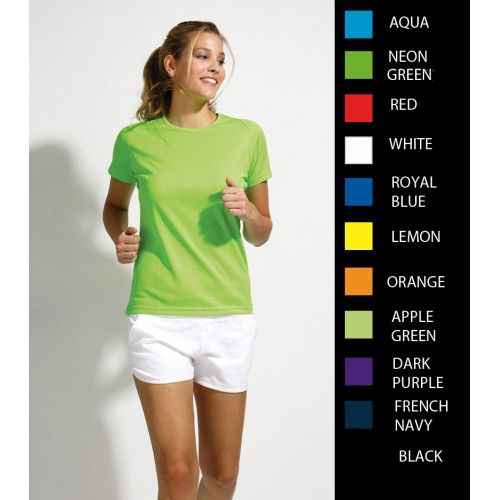Womens Polyester T-Shirts