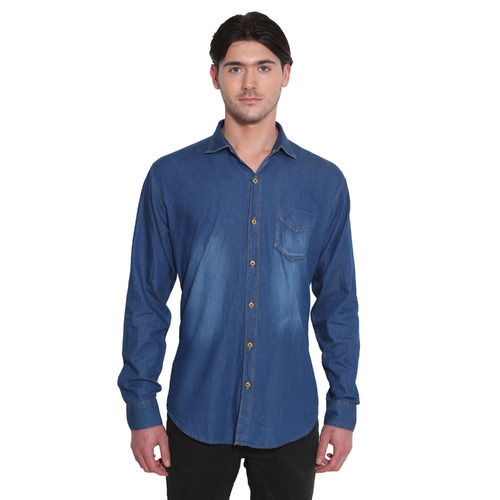 100% Cotton Denim Shirts
