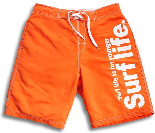 men's orange short
