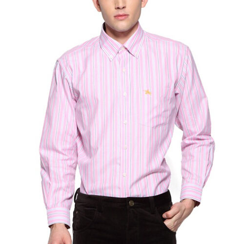 mens cotton polyester casual shirt