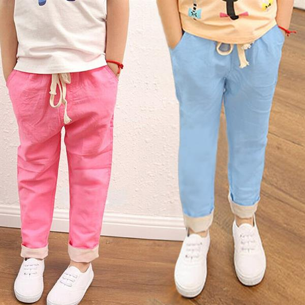 kids cotton trouser