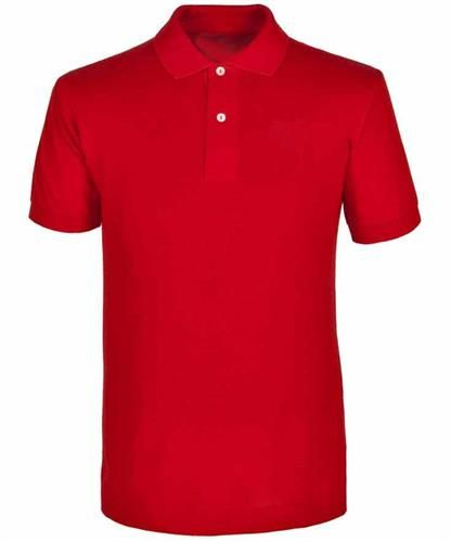 red polo shirt for men