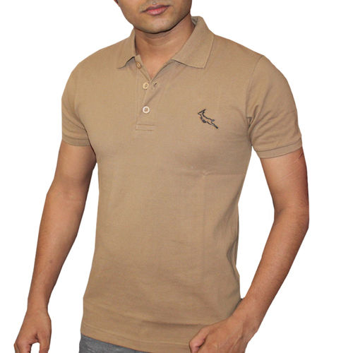 Men Knitted Polo T-Shirt